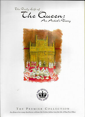 Isle of Man 2002 Daily Life of the Queen - An Artist's Diary Premier Collection