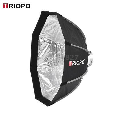 TRIOPO 65cm Foldable 8-Pole Octagon Softbox with Soft Cloth Carrying Bag I1M7
