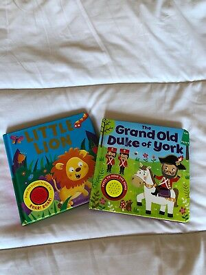 Musical Illustration Early Learning Baby Toddler Books Bundle Sound Interactive