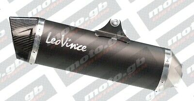 KYMCO XCITING 400i 2014-2016 LEOVINCE NERO SLIP-ON EXHAUST *IN STOCK*FAST SHIP*