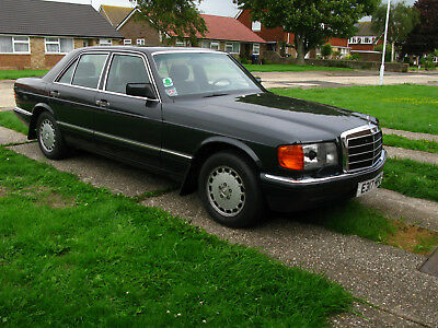 Mercedes Benz 500Se 126 Series 1988 One Previous Owner - Left Hand Drive - V8