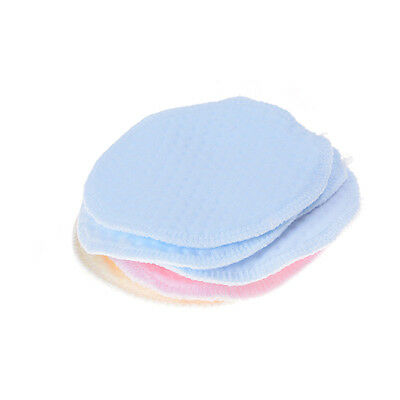 6x Reusable Washable Absorbent Mom Baby Breast Feeding Nursing Pads  Supply  FO