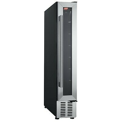 Cookology CWC150SS 15cm Wine Cooler in Stainless Steel, 7 Bottle Cabinet