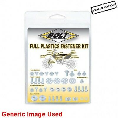 Kawasaki Kx125 Kx250 2003 - 2008 Full Plastics Fastener Kit Nuts & Bolts