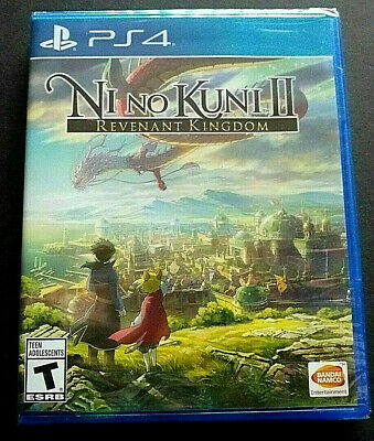 Ni no Kuni II: Revenant Kingdom --(Sony PlayStation 4, 2018)