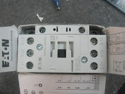 EATON XTCE018C01A Contactor, IEC, 120VAC, 3P, 18A DILM17-01 New