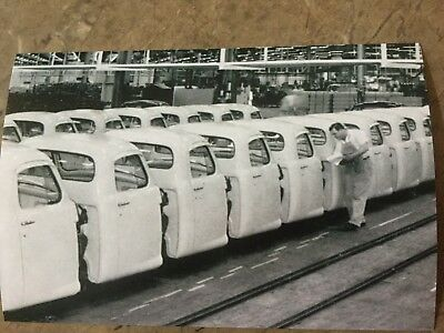 1955 Studebaker Truck Cabs Final Assembly South Bend Indiana 4X6 Inch Photo