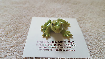 Hagen Renaker Frog Papa Figurine Miniature Collect Gift New Free Shipping 00448