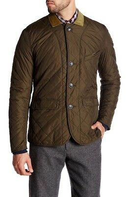 Barbour Men's Beauly Quilted Jacket, Olive Green, New With Tags, Size XXL