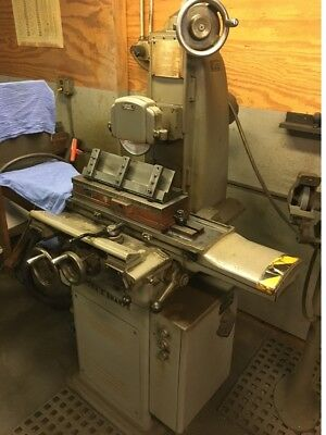 """BROWN & SHARPE 6"""" x 18"""" Toolroom Surface Grinder Table Feed Driect Drive Spindle"""