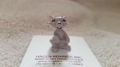 Hagen Renaker Mama Mouse Figurine Miniature Collect Gift New Free Shipping 00356