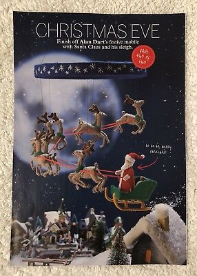 Alan Dart'S 'Christmas Eve' Parts 1 & 2 Complete Mobile Toy Knitting Pattern New
