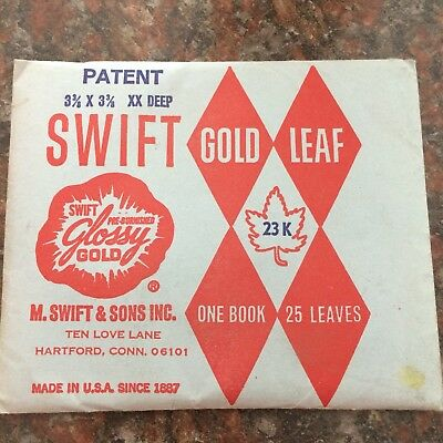 Swift Gold Leaf, Vintage.