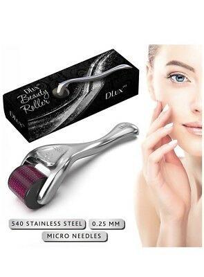 Microneedle Derma Roller with Protective Kit :: New 2018 Model Stainless 0.25 mm