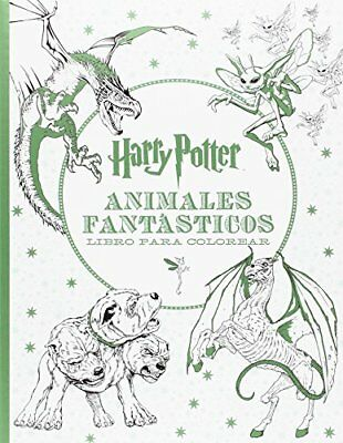 HARRY POTTER. ANIMALES fantásticos. Libro para colorear - EUR 12,40 ...