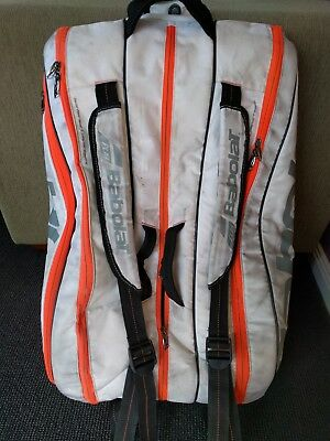 Babolat Pure White 12 pack tennis bag RRP $149.95