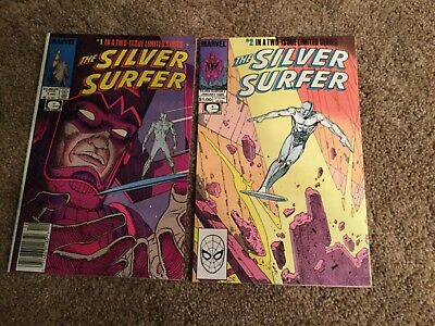 Silver Surfer 1-2 1989 2 Issue limited Series