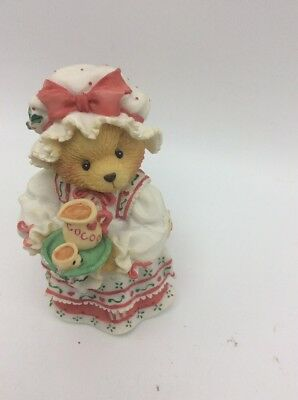 Cherished Teddies Teddy Bear Holly A Cup Of Homemade Love Unesco 1995 T4