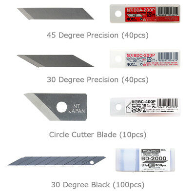 NT Cutter Blades BDC-200P / BDA-200P / BC-400P / BD-2000 for Art & Circle Cutter