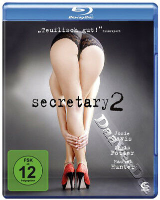 Secretary 2 NEW Cult Blu-Ray Disc Douglas Jackson J. Davis C. Potter R. Hunter