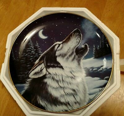 Cry at Midnight by Cassandra Graham The Franklin Mint Limited Edition Plate