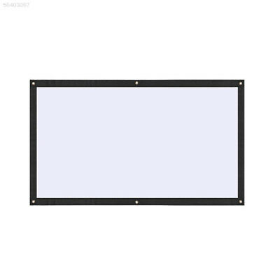 919C Polyester Moviescreen Projector Screen Outdoor Foldable Projection Curtain