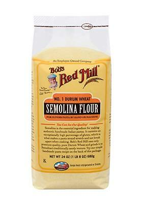 Bob's Red Mill Semolina Pasta Flour, 24-ounce (Pack of 3)