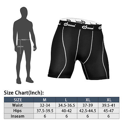 Men Sports Compression Shorts Tight Underwear Pants Training Athletic Gym Tights