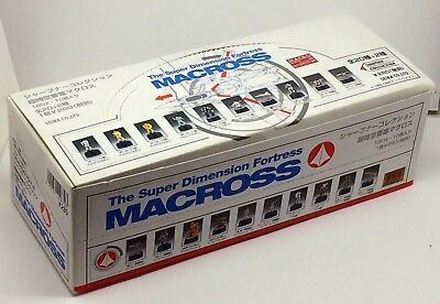 Macross/Robotech Gashapon Pencil Sharpener Collection with 10 Opened Figures