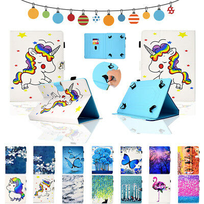 10 inch Android Tablet Universal PU Leather Stand Flip Protection Case Cover