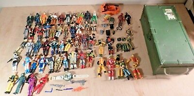GI Joe Lot~3 3/4 inch~Dated 1980's to 2000's~Vintage~Rare Watch~Foot Locker~More