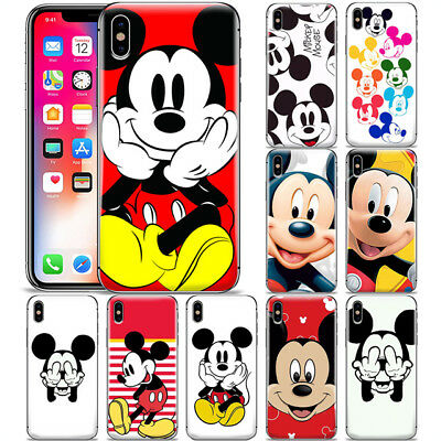 Disney Cartoon Mickey Mouse Pattern Phone Case Cover For Iphone X Xr
