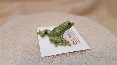 Hagen Renaker Tree Frog Mama Figurine Miniature Collect New Free Shipping 00221