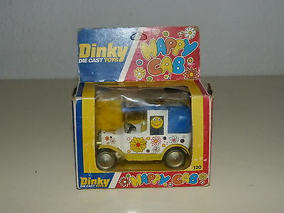 Dinky Toys 120 Happy Cab Model 70er Jahre Modell Spielzeug in Box Ovp