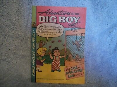 VINTAGE RARE VHTF Adventures Of The Big Boy # 138 Comic Book