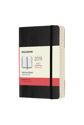 Moleskine - 2019 Soft Cover Diary - Daily - Large (13x21cm) - Black
