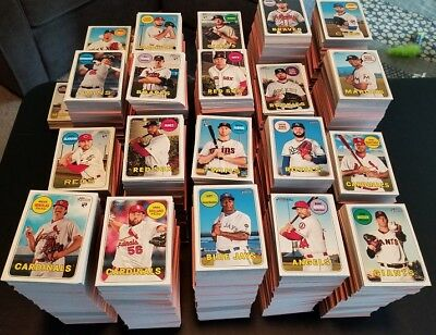 2018 Topps Heritage High BASE CARD YOU PICK Choose 501-700 RC *BUY 1 GET 7 FREE*