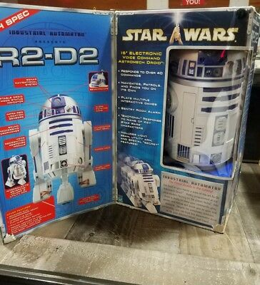 Star Wars R2 D2 Droid By Industrial Automation Hasbro 15 Robot