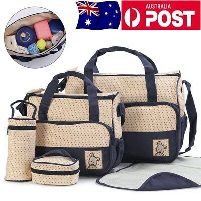 5pcs/Set Multi-functional Diaper Nappy Changing Liners Bags Mummy Baby Travel Bg