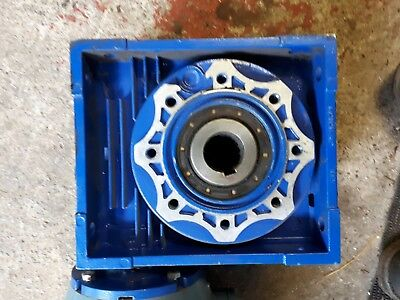 Worm drive gearbox. 50/1 Motovario.Used.