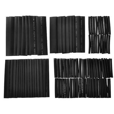 127pcs Heat Shrink Tubing Tube Assortment Wire Wrap Electrical Insulation G4B4