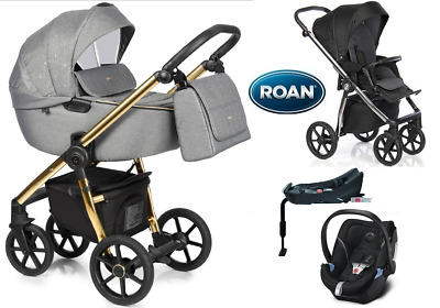 Stroller Roan Esso 4in1 pram puschair car seat adapters Isofix