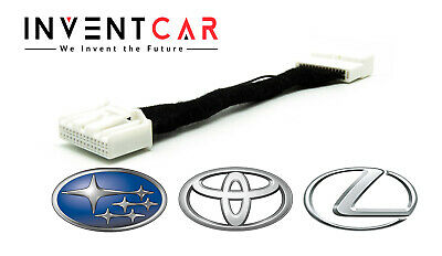 BYPASS THE OEM Video-in-motion For Select 2014-2019 Toyota, Lexus and Subaru