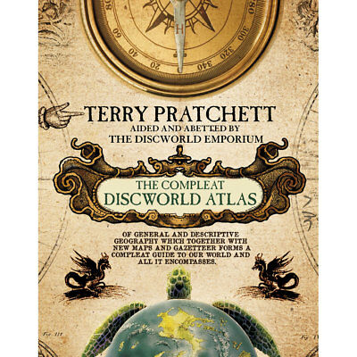 The Discworld Atlas (Hardback), Non Fiction Books, Brand New