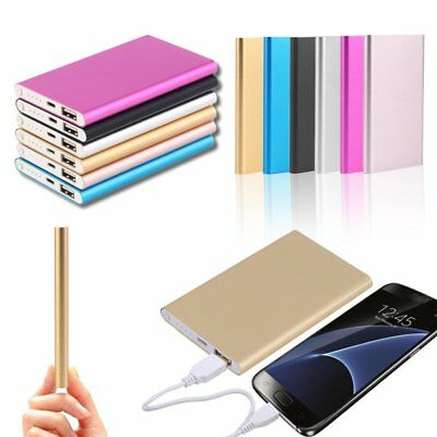 LOT 20 Ultra Thin 20000mAh External Battery Charger Power Bank for Cell Phone AS