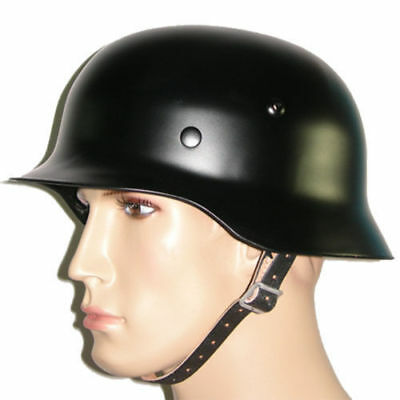 MILITARY WW2 GERMAN M35 M1935 Steel Motorcycle Helmet Army Field Helmets