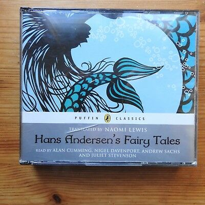 Hans Andersen's Fairy Tales  audio on 3 CDs unabridged Puffin Classics