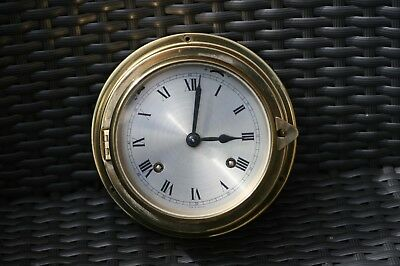 Glasenuhr aus Messing - Made in Germany