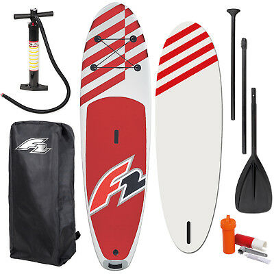 "F2 Allround Inflatable Sup Set 11,6"" + Pumpe & Rucksack & Paddel ~ Testboard"