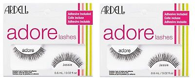 7f588fad3a8 2 x ARDELL Adore 'JESSIE' Lashes - Black False Lashes - Adhesive Included